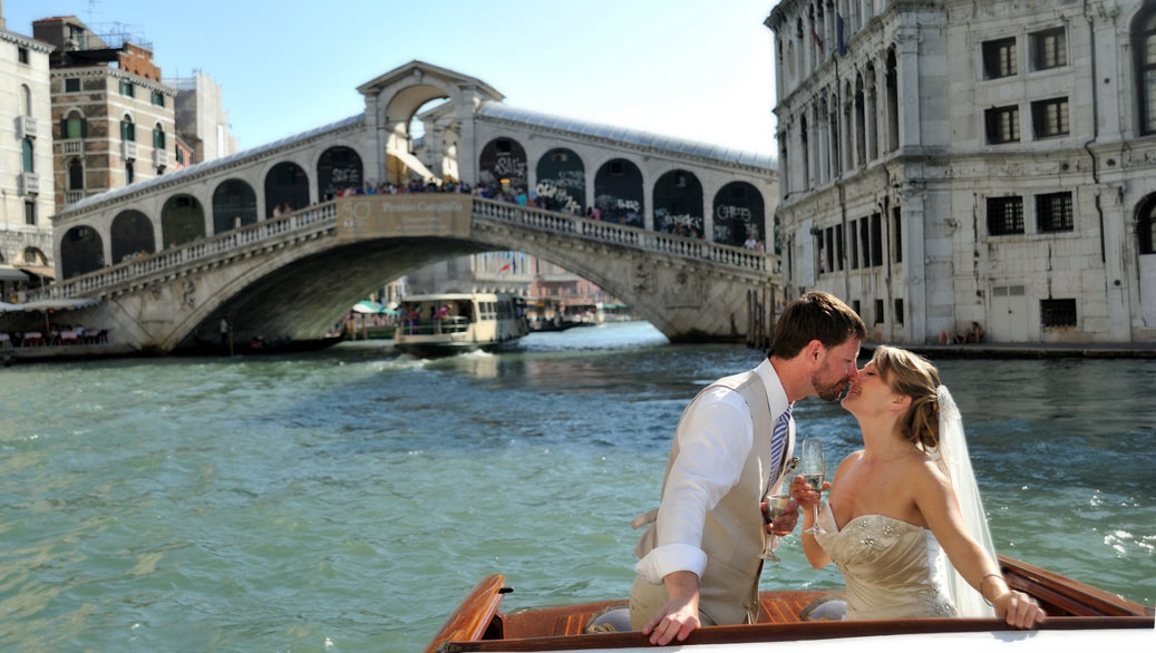 Wedding in Venice with Marive Transport