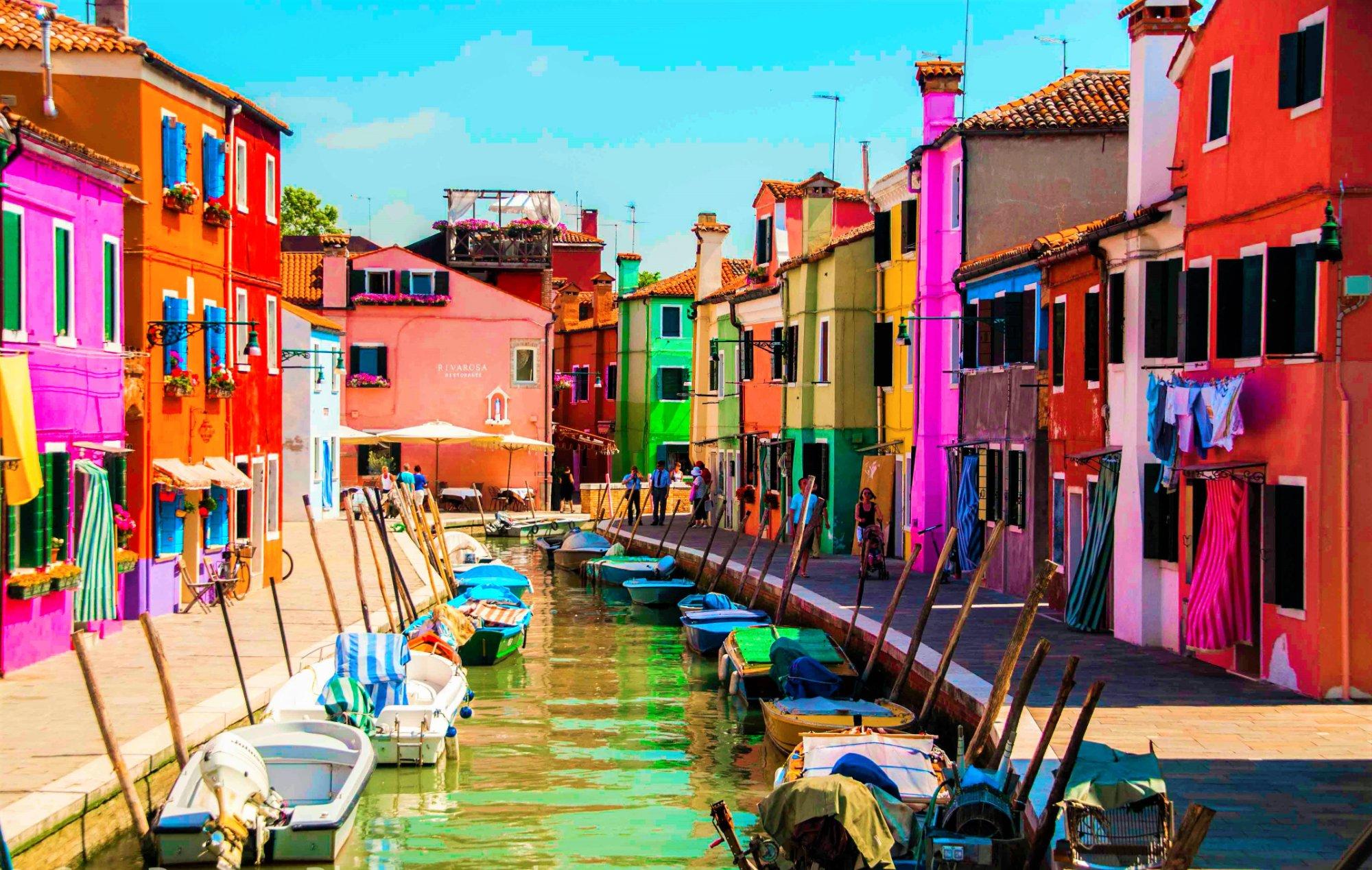 Il Tour delle isole (Murano, Burano e Torcello)