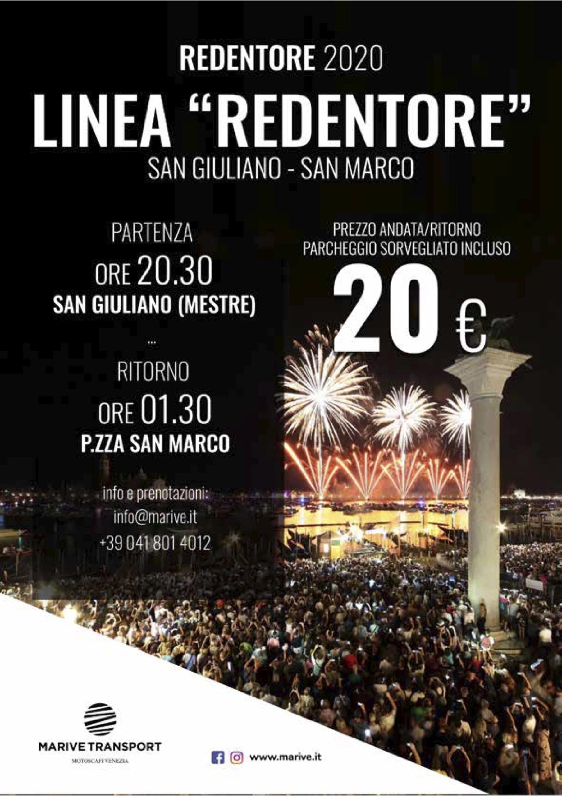 LINEA REDENTORE 2020