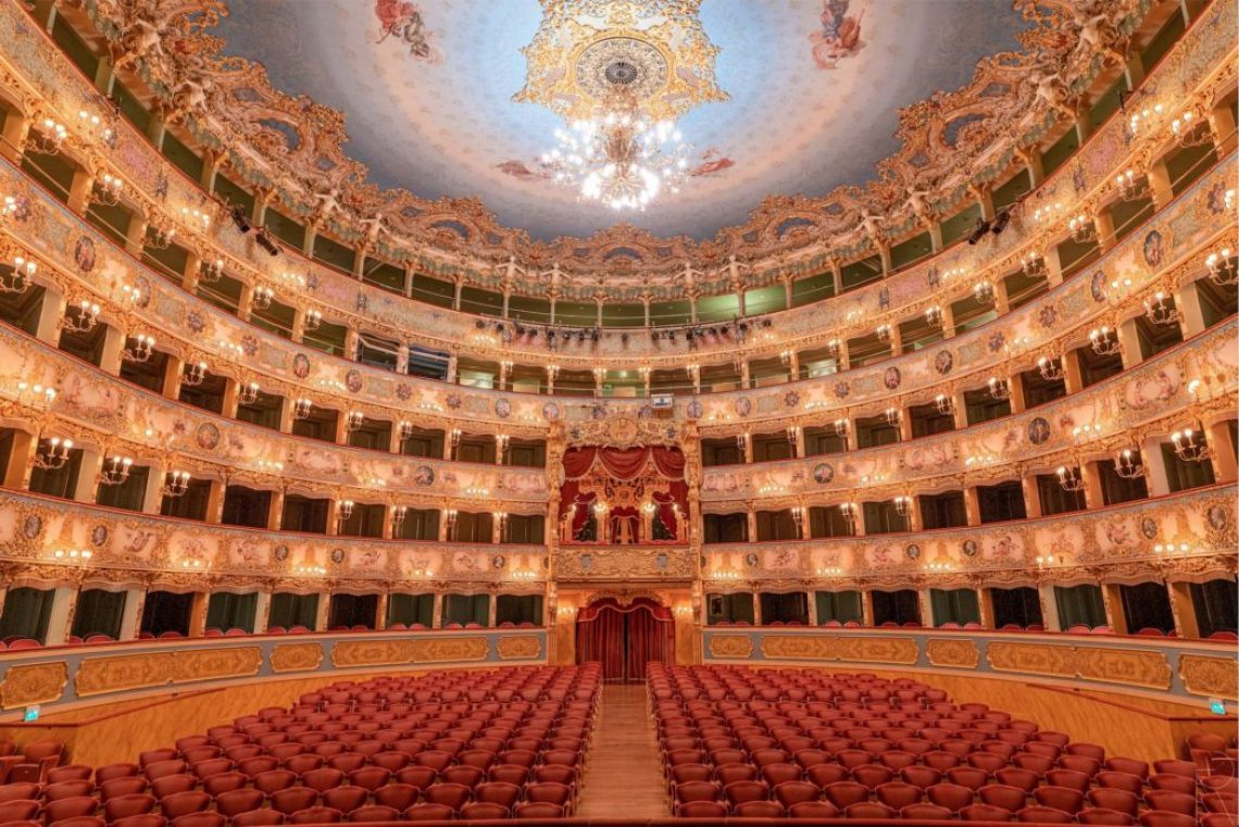 The news of the Christmas concert at the La Fenice theater