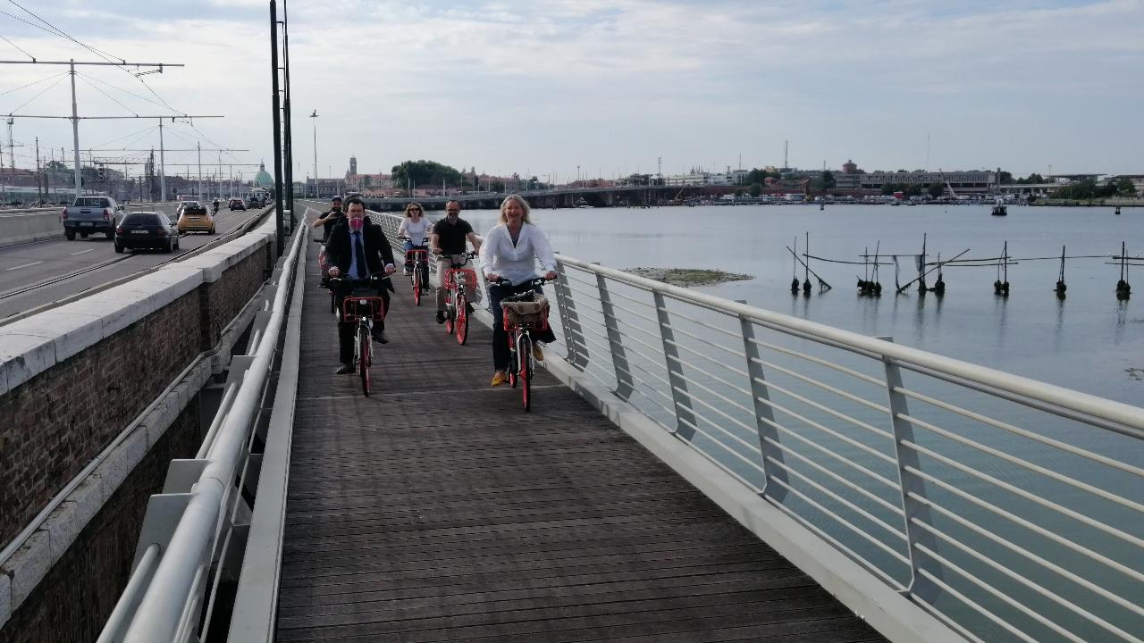 Le novità per i Veneziani amanti della bicicletta