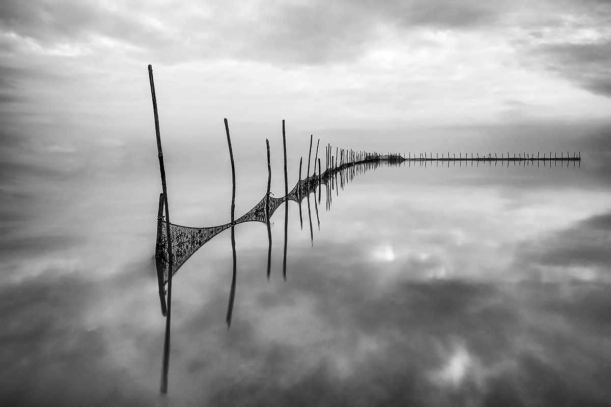 """""""Infinito"""" l'opera fotografica della Laguna incantata"""