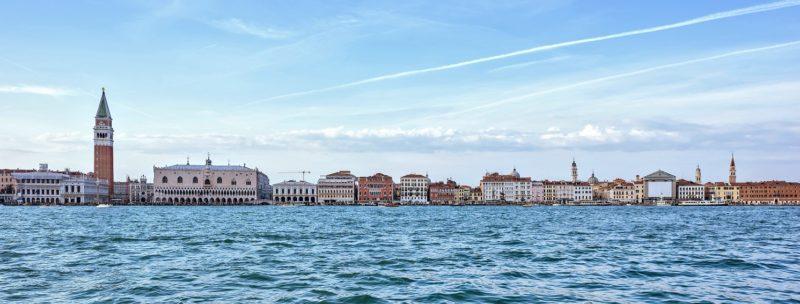 Lavori in corso nel cuore di Venezia