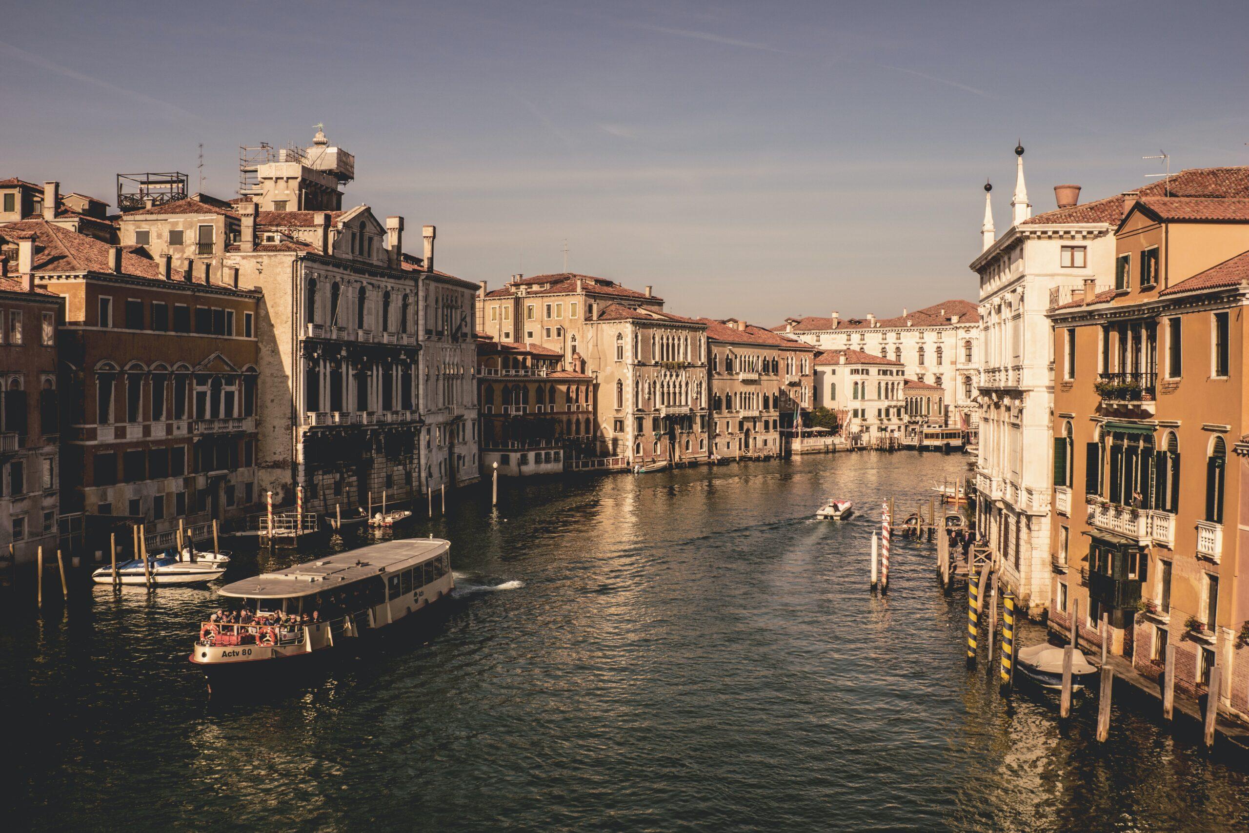 Venezia, set cinematografico per una nuova serie Tv