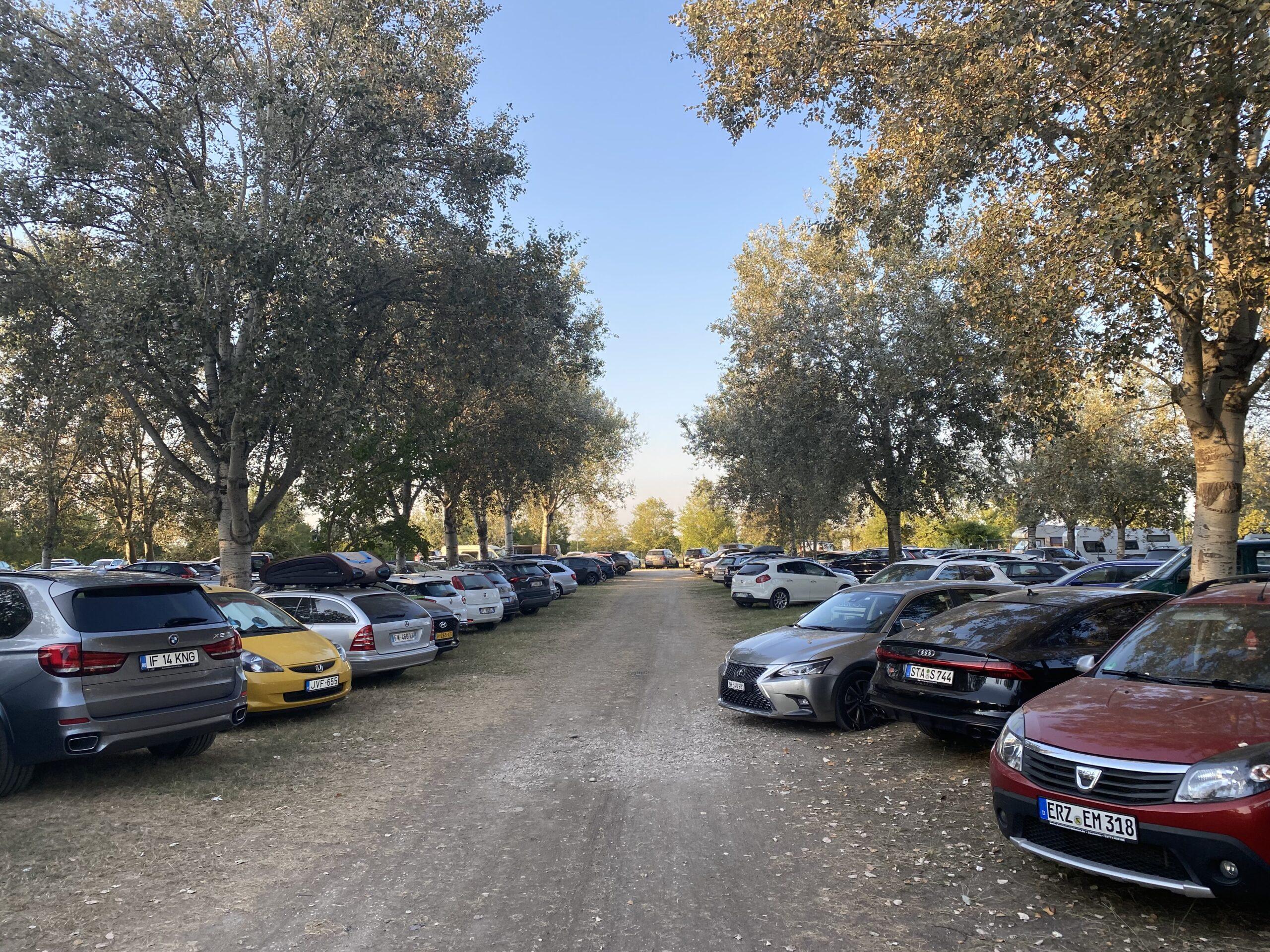 Il futuro: Parcheggio alberato un'area sostenibile e gradevole!